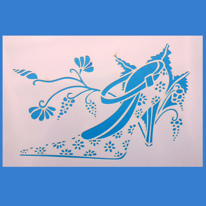 Stencil Zapato 10 20x30 cm