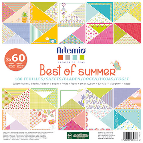 BLOC BEST OF WINTER 180 HOJAS 30X30