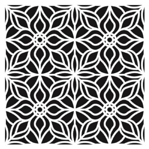 Stencil 30x30 cm Mosaico 5