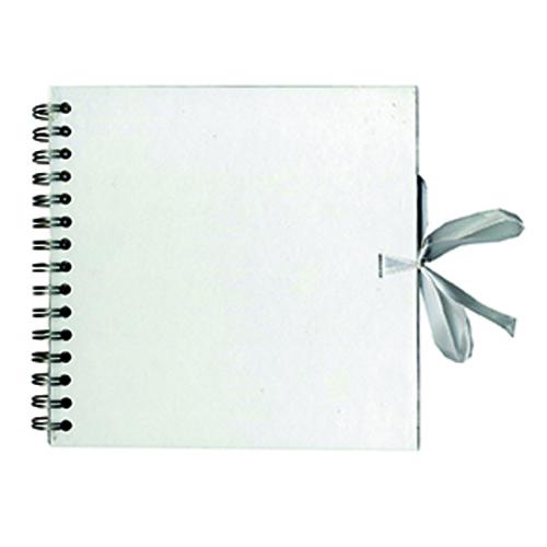 Album Blanco 40 hojas Kraft 20x20 cm