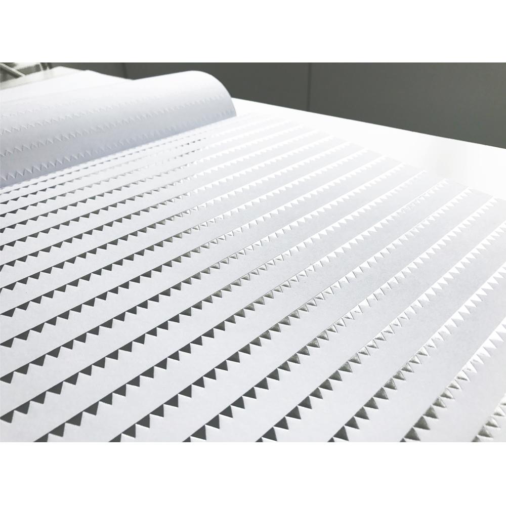 Bloc papel 40 hojas 30,5x30,5 cm. Foil Plata