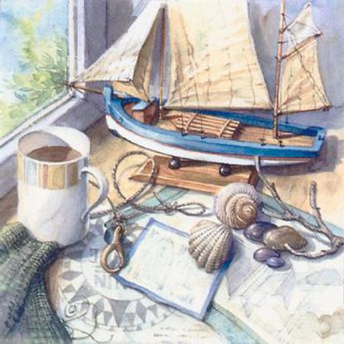 20 servilletas. Marítima