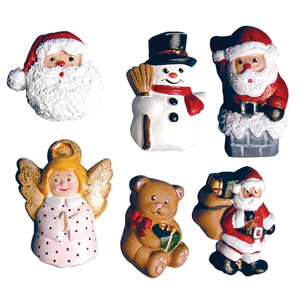 Molde fundicion figuras navideñas