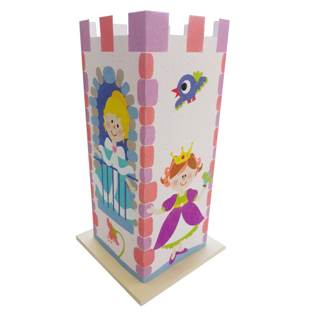 Kit Lámpara arenas castillo Princesa