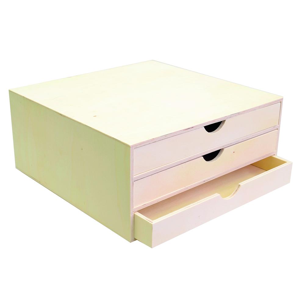 Mueble 3 cajones 34,5x34x15,5 cm
