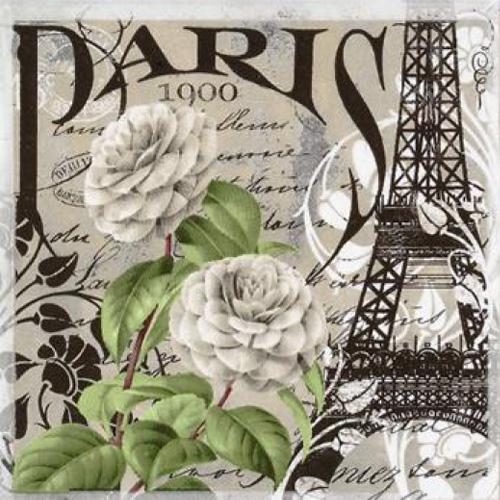 20 servilletas. Paris 1900