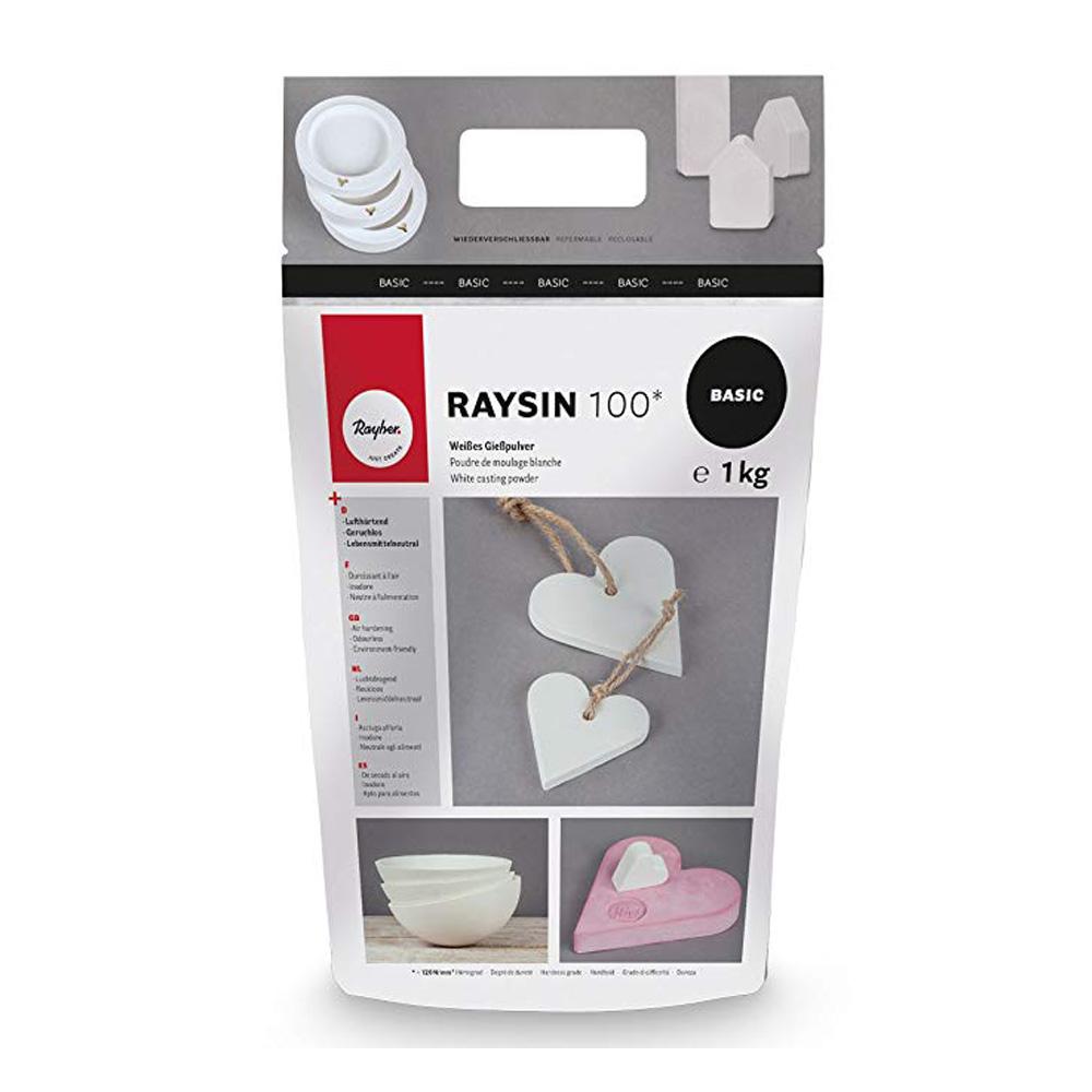 Resina blanca para moldes Rayher 1 kg