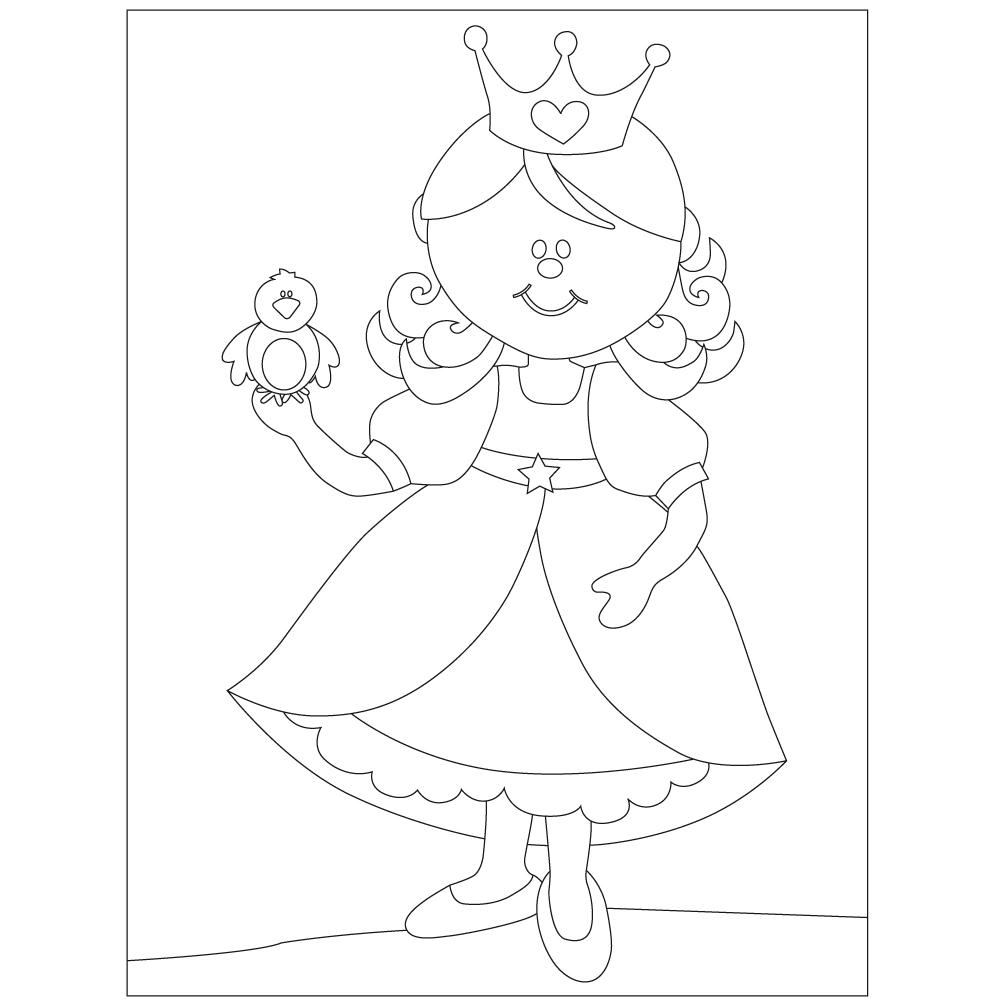 Princesa. 15x20 cm Precortado