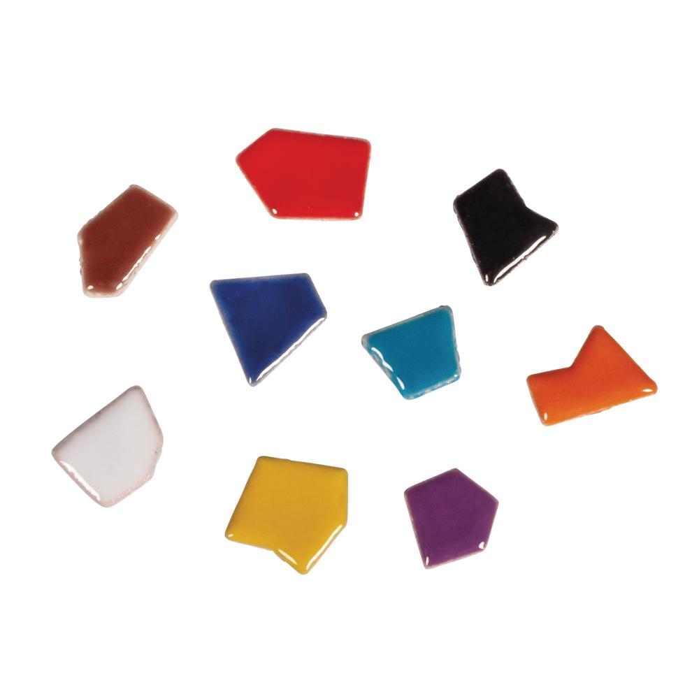 Teselas Cerámica mix 2 poligonal 380 ut.