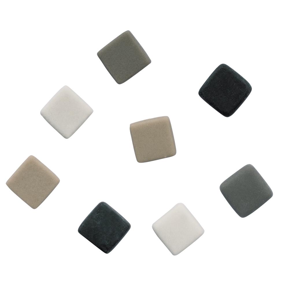 Mosaico mate grises 1x1 cm. 250 pzas.