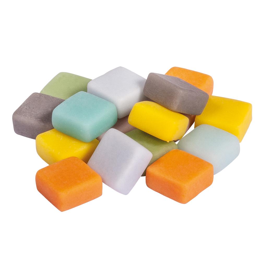 Mosaico mate mix 1x1 cm. 250 pzas