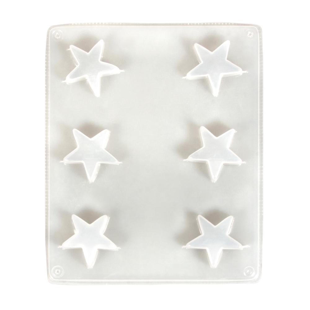 Molde 6 estrellas 3,6 cm