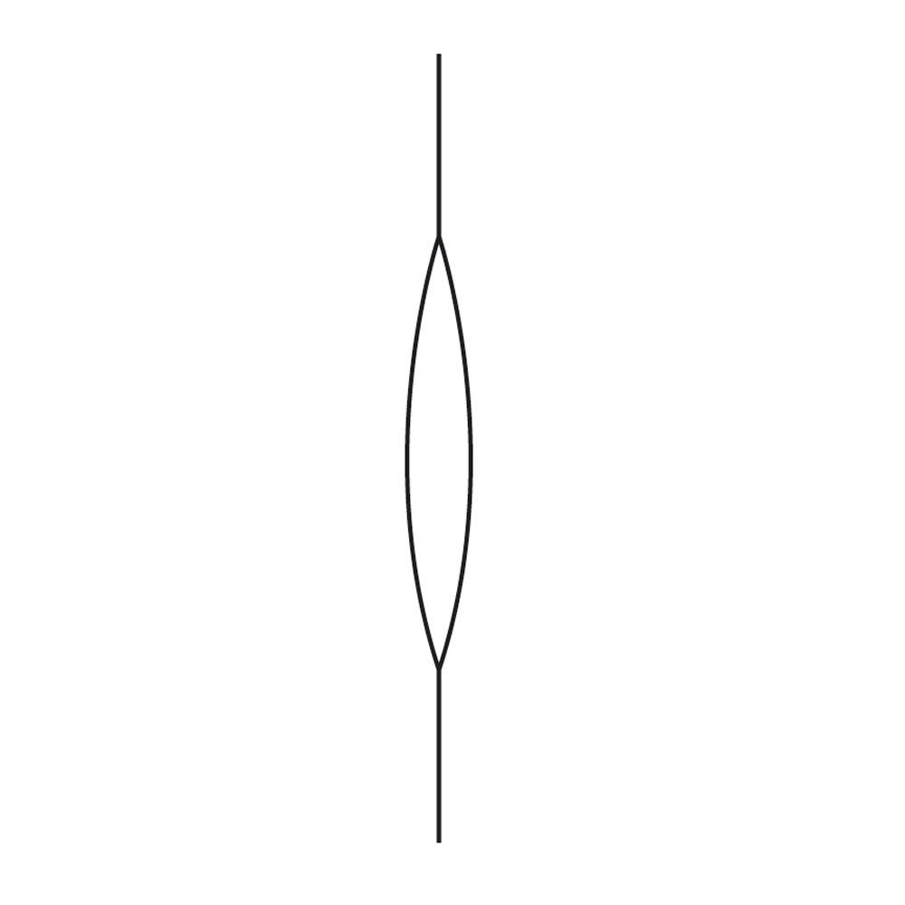 Aguja para enfilar 11,4 cm