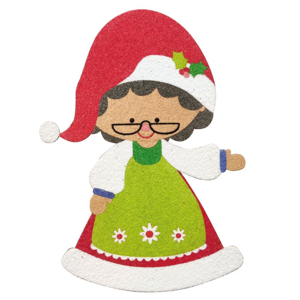 Silueta Mama Noel 18 cm