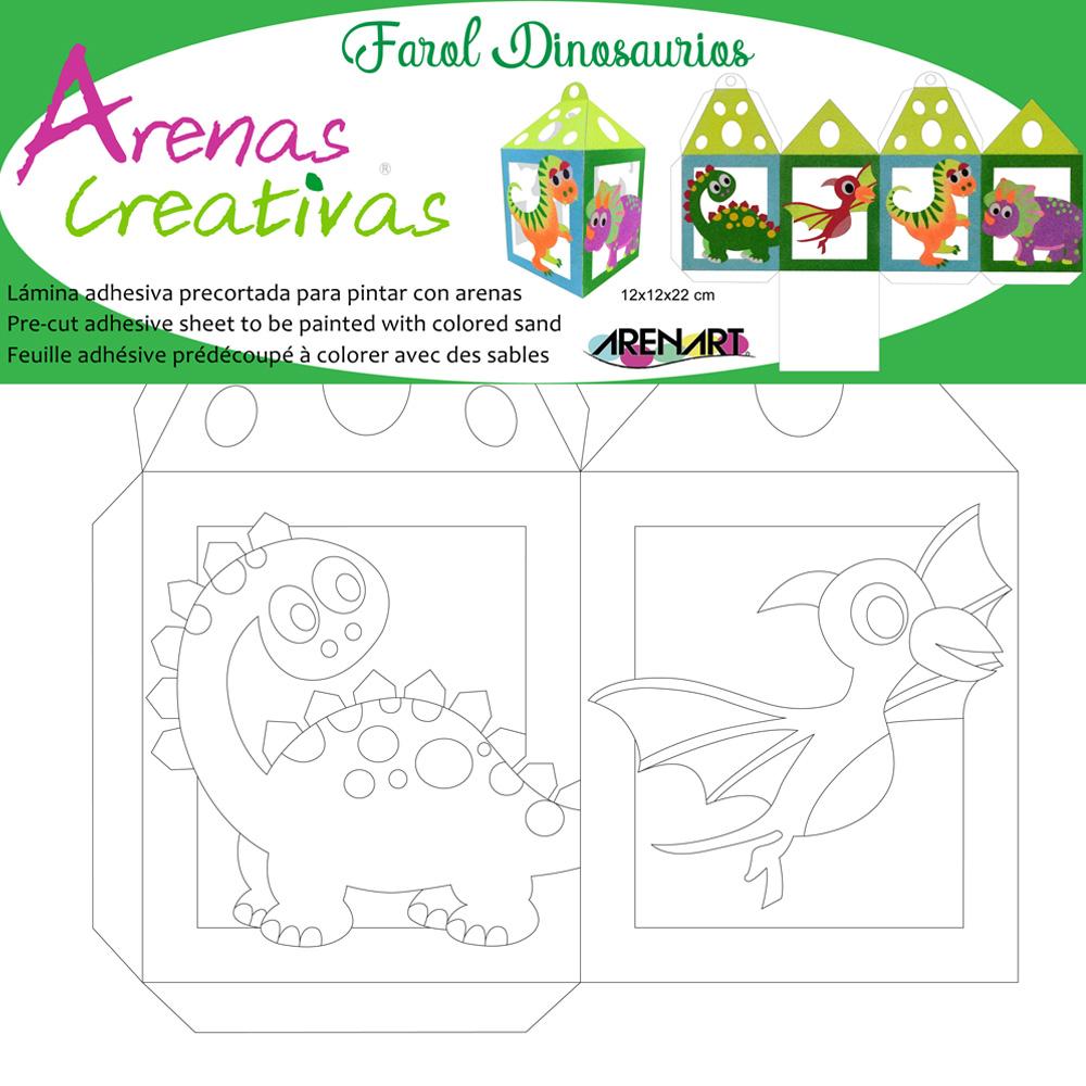 Farola Dinosaurios