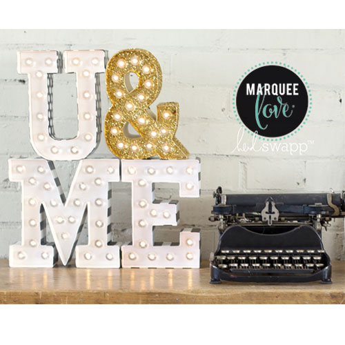 Marquee Love Lletra W
