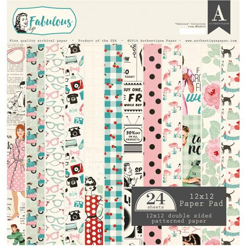 24 papeles 30,5 x 30,5 cm. Fabulous
