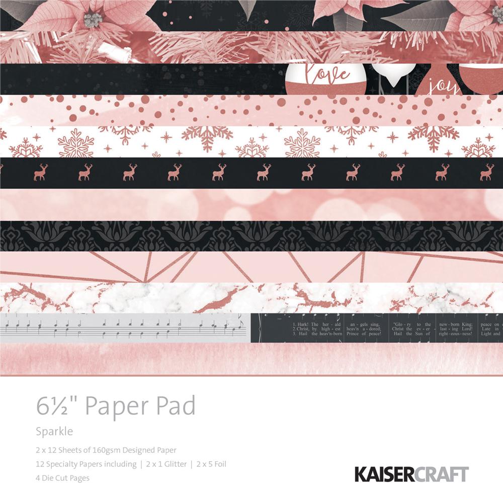 40 papeles 16,5x16,5 cm. Sparkle